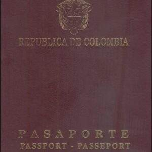 Fake Colombian Passport