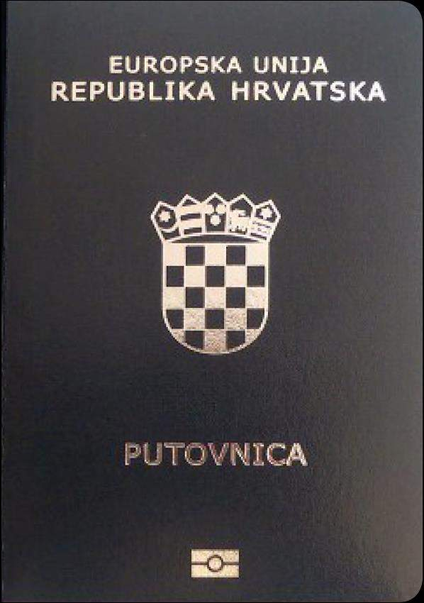 Fake Croatian Passport