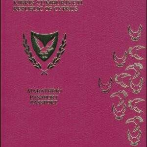 Real Cyprus Passport