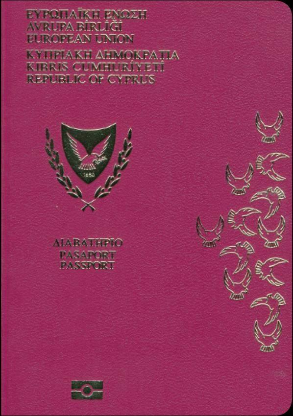 Real Cyprus Passport