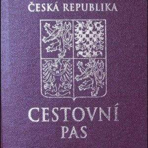 Real Czechia Passport