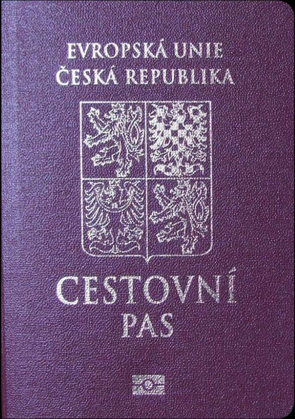 Real Czechia Passport