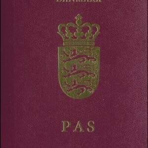 Real Denmark Passport