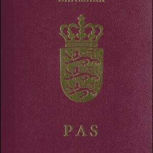 Fake Denmark Passport