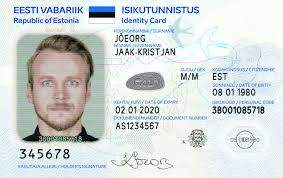 Buy Real ID Card of Estonia