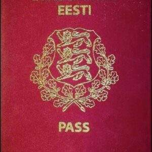 Real Estonian Passport