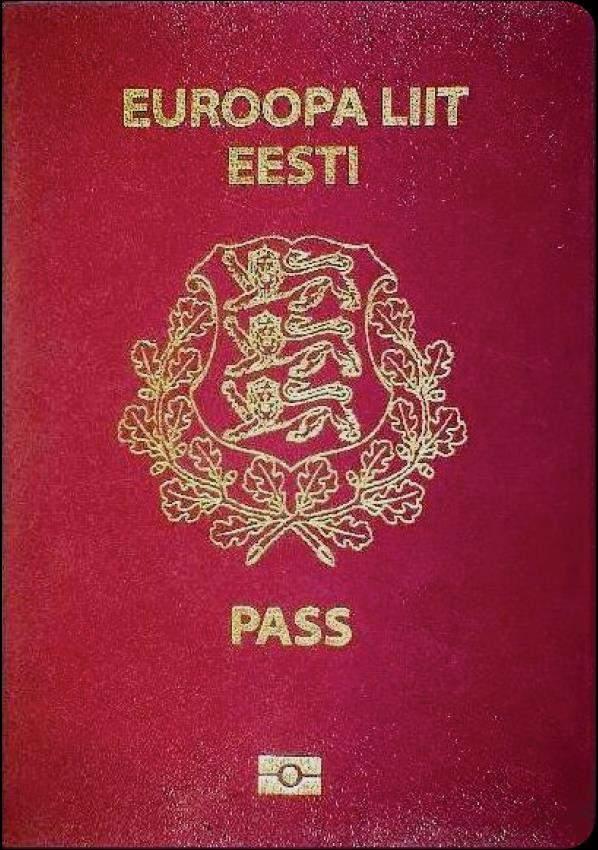 Real Estonian Passport