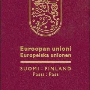 Real Finnish Passport