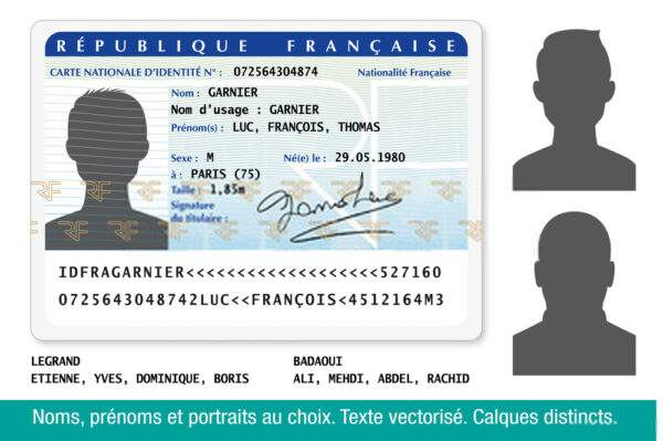ID card of France