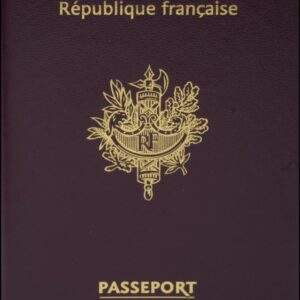 Fake French Passport