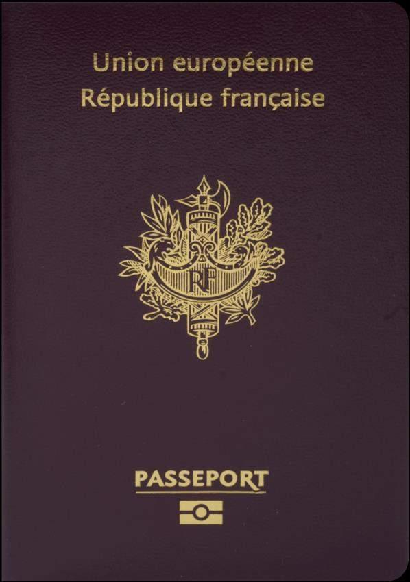 Fake French Passport