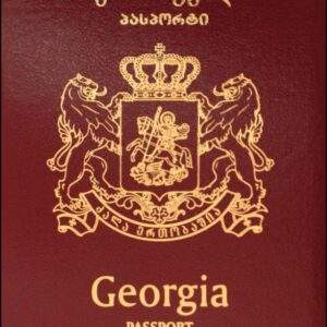 Fake Georgian Passport