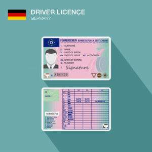 Germany Fake Driver's License for Sale