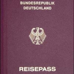 Real Germany Passport