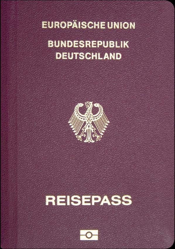 Fake Germany Passport