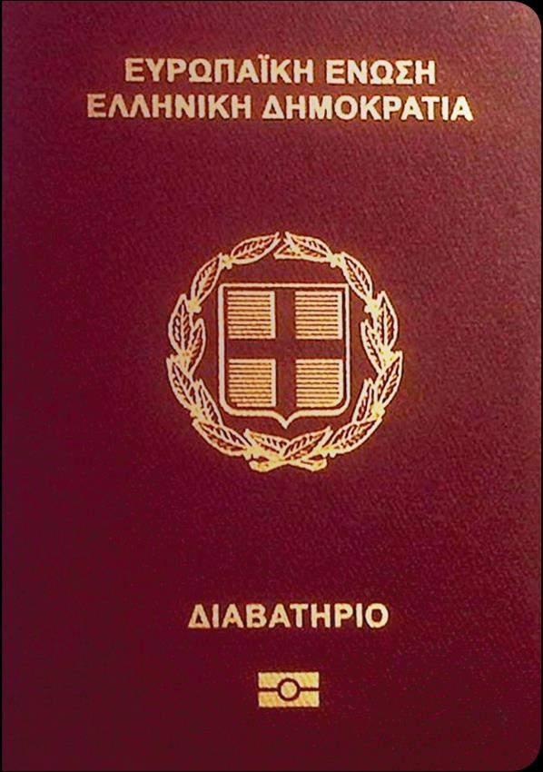 Real Greek Passport