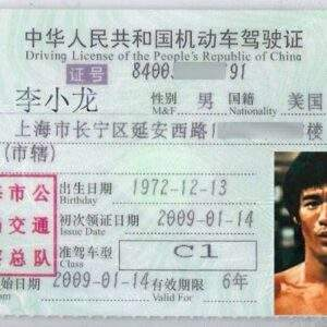 China Fake Driver's License for Sale
