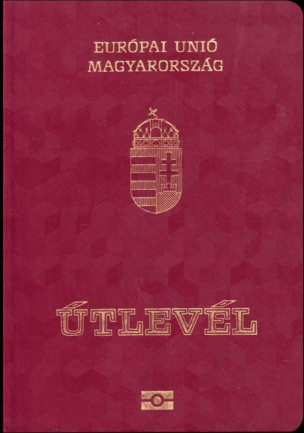 Real Hungarian Passport