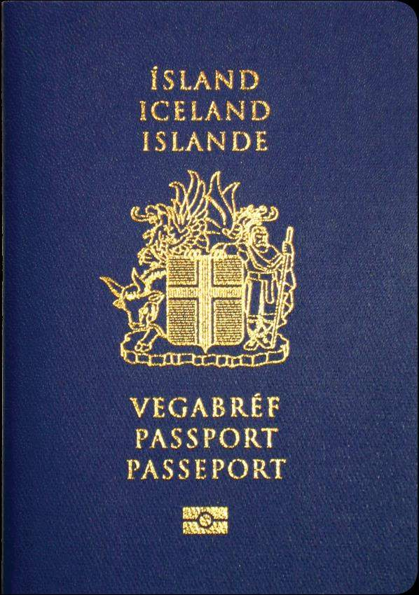 Real Iceland Passport