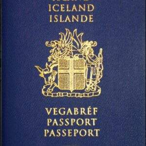 Fake Iceland Passport
