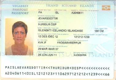 Buy Fake ID Card of Iceland