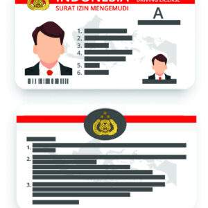 Indonesia Driver's License