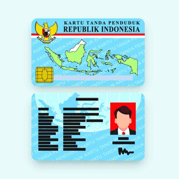 Fake ID Card of Indonesia