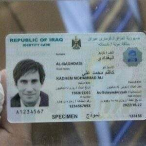 Buy Fake ID Card of Iraq