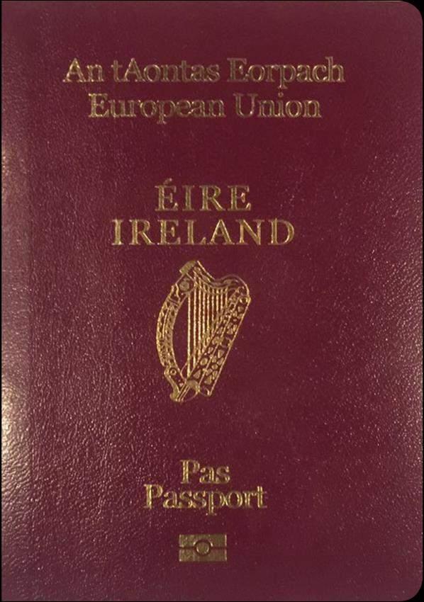 Fake Ireland Passport