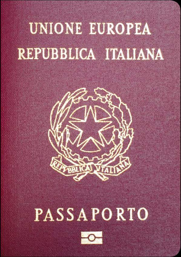 Real Italian Passport
