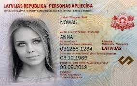 Buy Real ID Card of Latvia