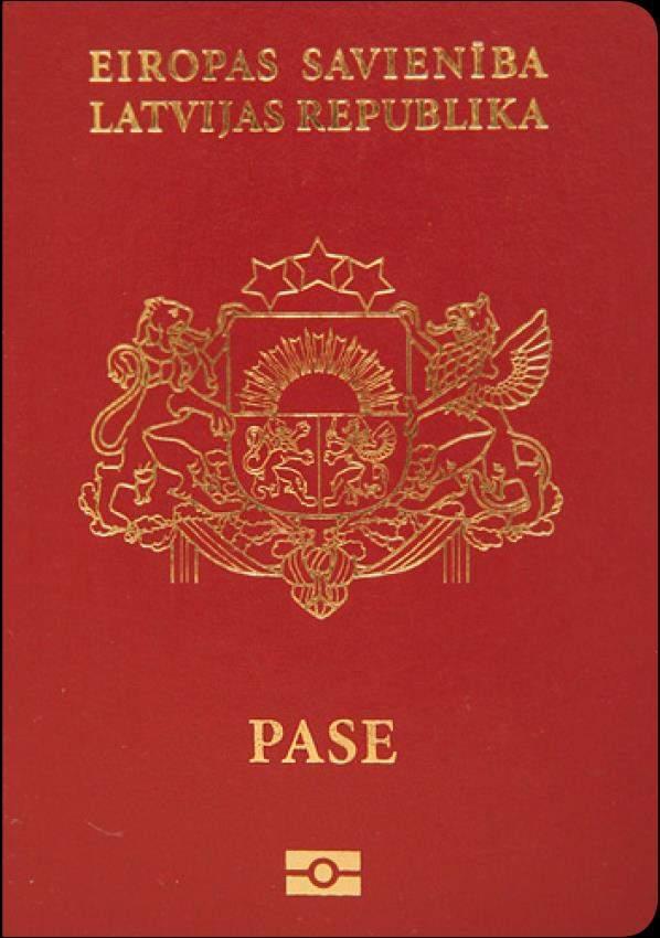 Real Latvia Passport