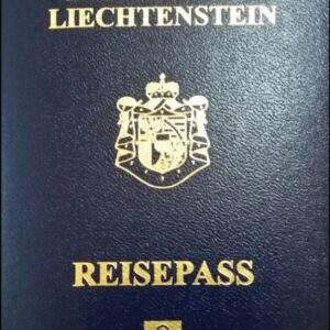 Real Liechtenstein Passport