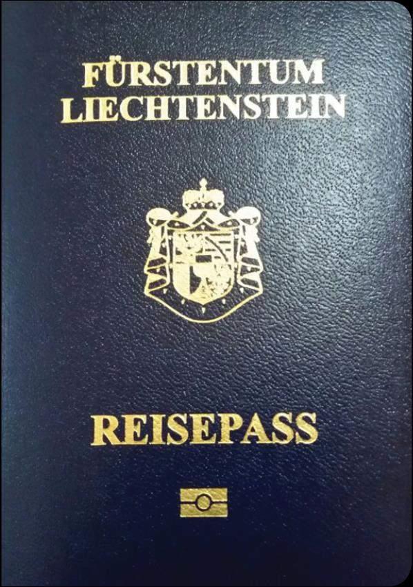 Real Liechtenstein Passport