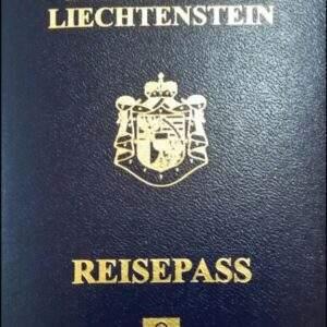 Fake Liechtenstein Passport