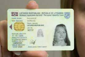 Buy Real ID Card of Lithuania