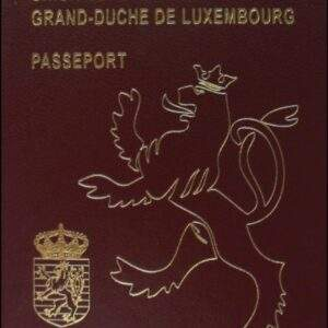 Real Luxembourg Passport