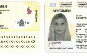 Buy Fake ID Card of Luxembourg