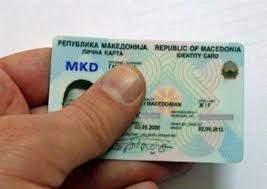Buy Real ID Card of Macedonia