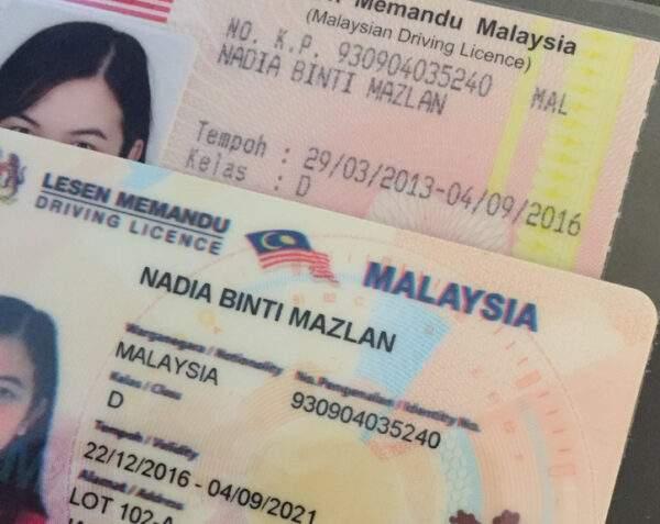 Malaysia Driver's License