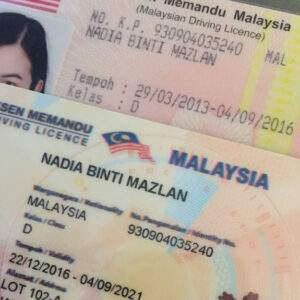 Malaysia Fake Driver's License for Sale