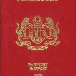 Fake Malaysian Passport