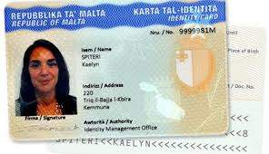 Buy Real ID Card of Malta