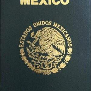 Real Passport of Mexico