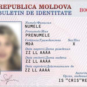 Buy Real ID Card of Moldova