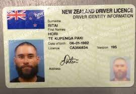 Buy Fake ID Card of New Zealand
