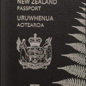 Fake New Zealand Passport