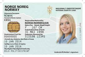 Buy Real ID Card of Norway