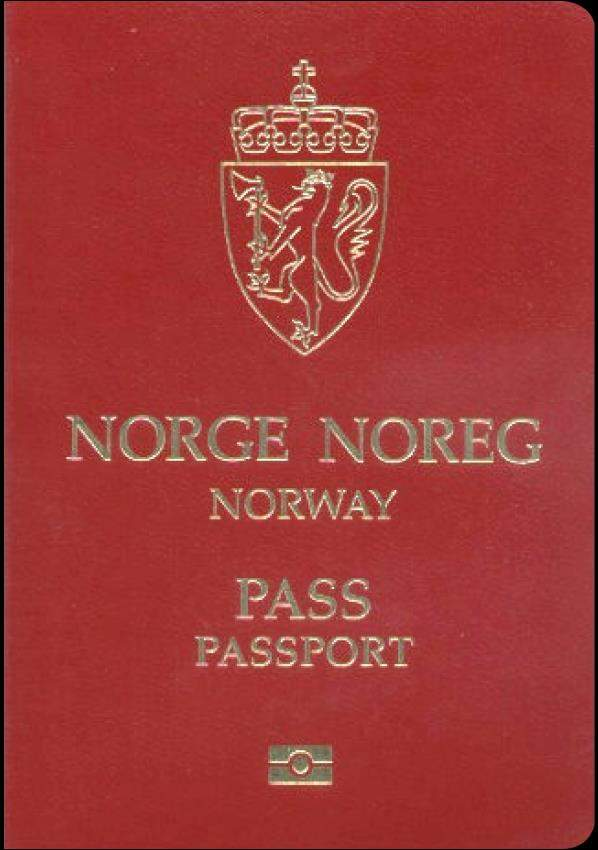 Real Norway Passport