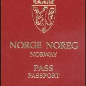 Fake Norway Passport